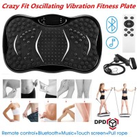 Crazy Fit Oscillating Vibration Power Massage Fitness Plate Body Shaker Machine